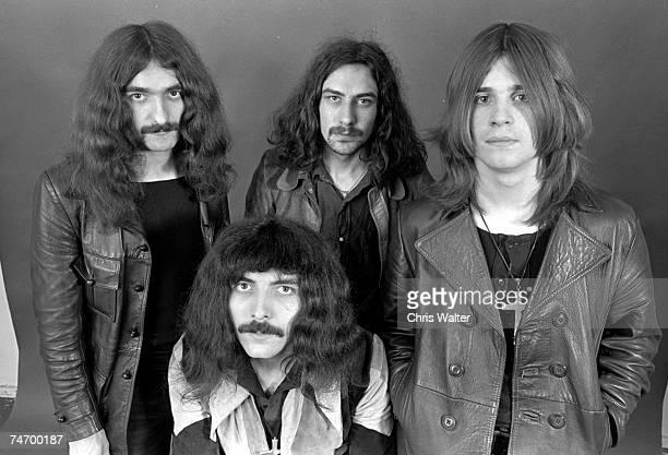 Geezer Butler Tony Iommi Bill Ward Ozzy Osbourne in