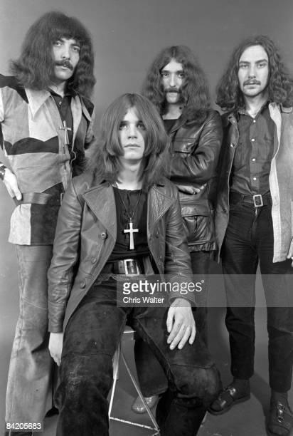 Tony Iommi Ozzy Osbourne Geezer Butler Bill Ward