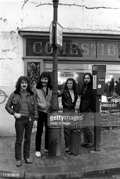 Black Sabbath in Paris during the recording of the 'Heaven Hell' album 1979 The album was Ronnie James Dio's first with the band