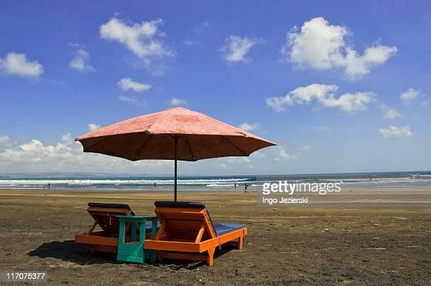 Black sand beach in Bali