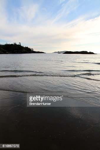 Black Sand Tofino : Stock Photo