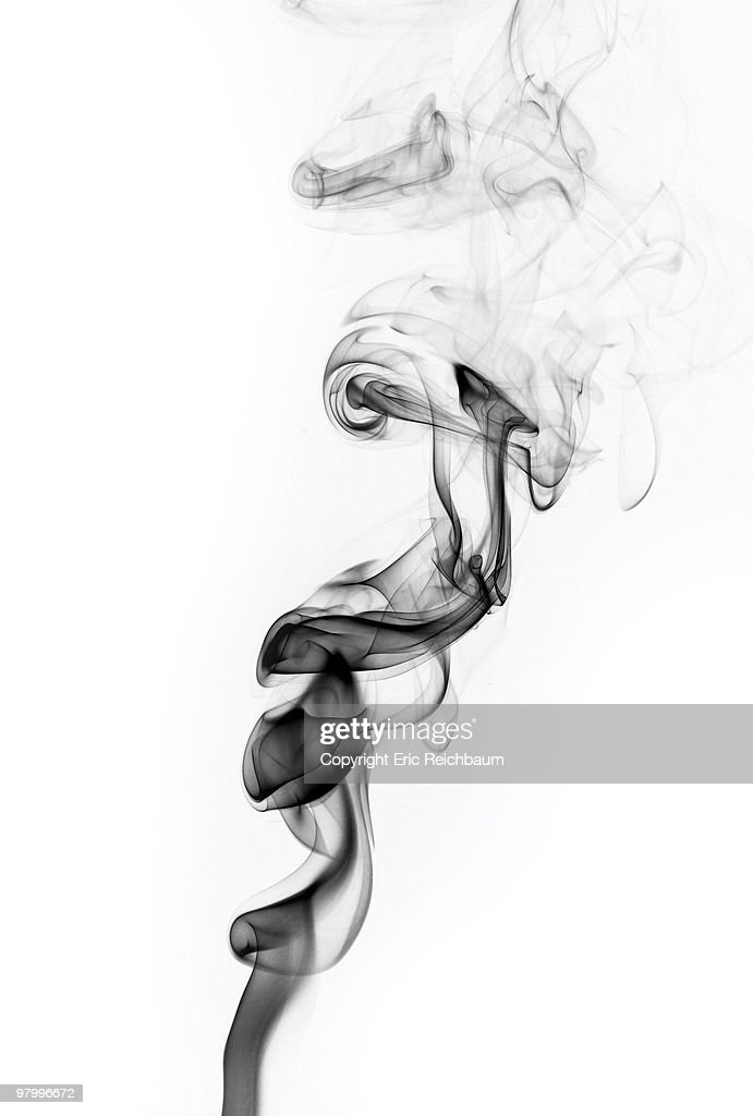 Black Smoke : Stock Photo