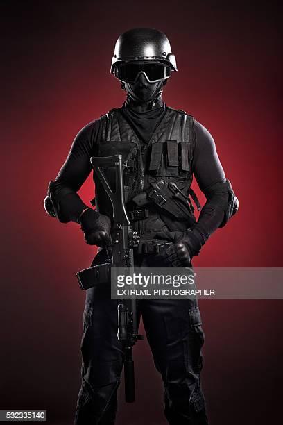 Black soldier