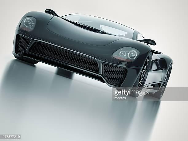 Auto sportiva nero