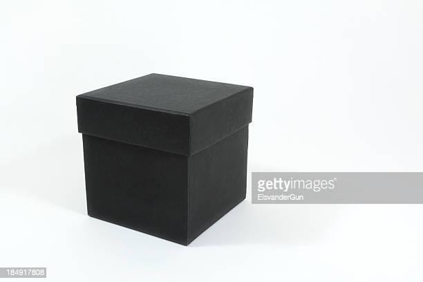 Black square box