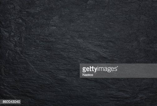 Black stone background : Stock Photo