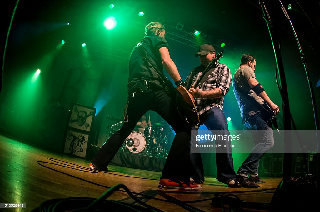 Black Stone Cherry Perform on February 15, 2016 in Milan, Italy.