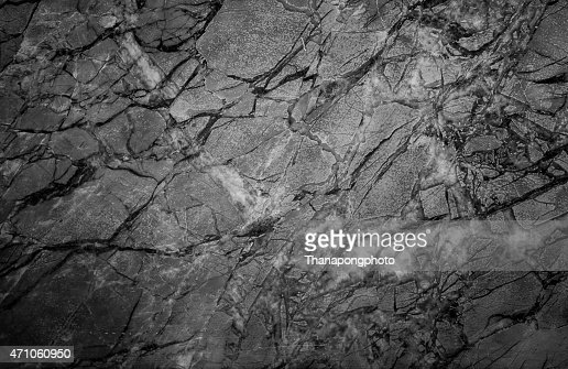 Black Stone Wall texture : Stock Photo