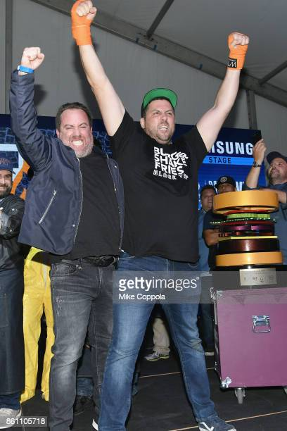 Black Tap wins the Blue Moon Burger Bash People's Choice award the Food Network Cooking Channel New York City Wine Food Festival Presented By...