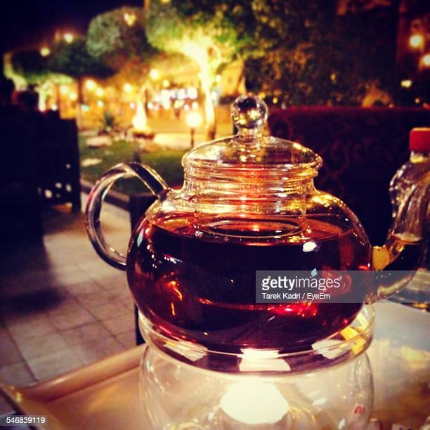 Black Tea In Pot