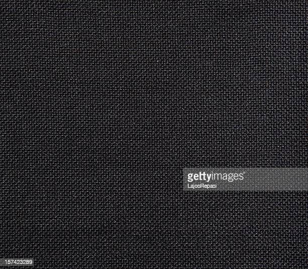 Black textured textile background