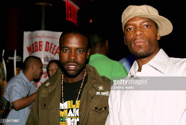 Black Thought of The Roots and M1 of Dead Prez during Mobb Deep Presents 'Amerikaz Nightmare' Album Release at Spirit in New York City New York...