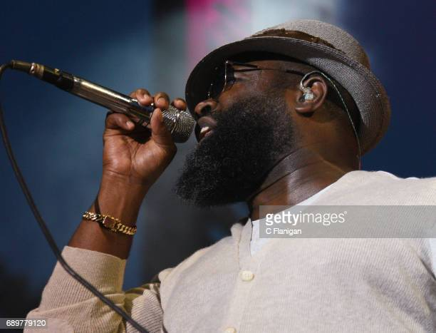 Black Thought of The Roots performs during the 2017 BottleRock Napa Festival on May 28 2017 in Napa California