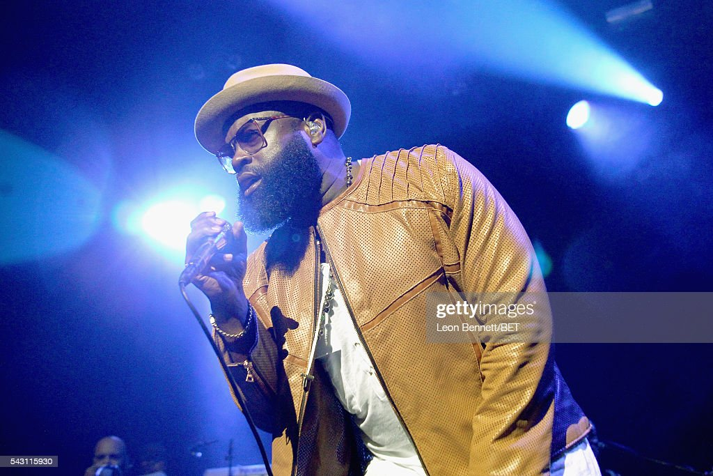 MC Black Thought of The Roots performs onstage during The Novo Late Night concert during the 2016 BET Experience on June 25, 2016 in Los Angeles, California.