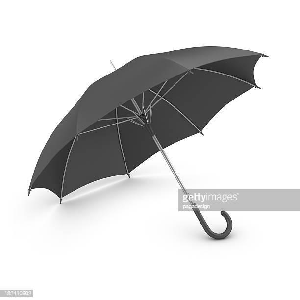 black Regenschirm