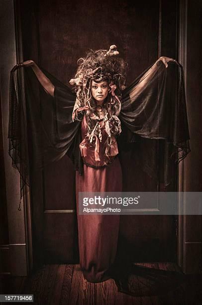 Black Voodoo Queen portrait - I