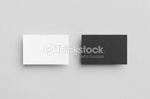 Black white business card mockup stock photo thinkstock black white business card mock up 85x55mm stock photo colourmoves