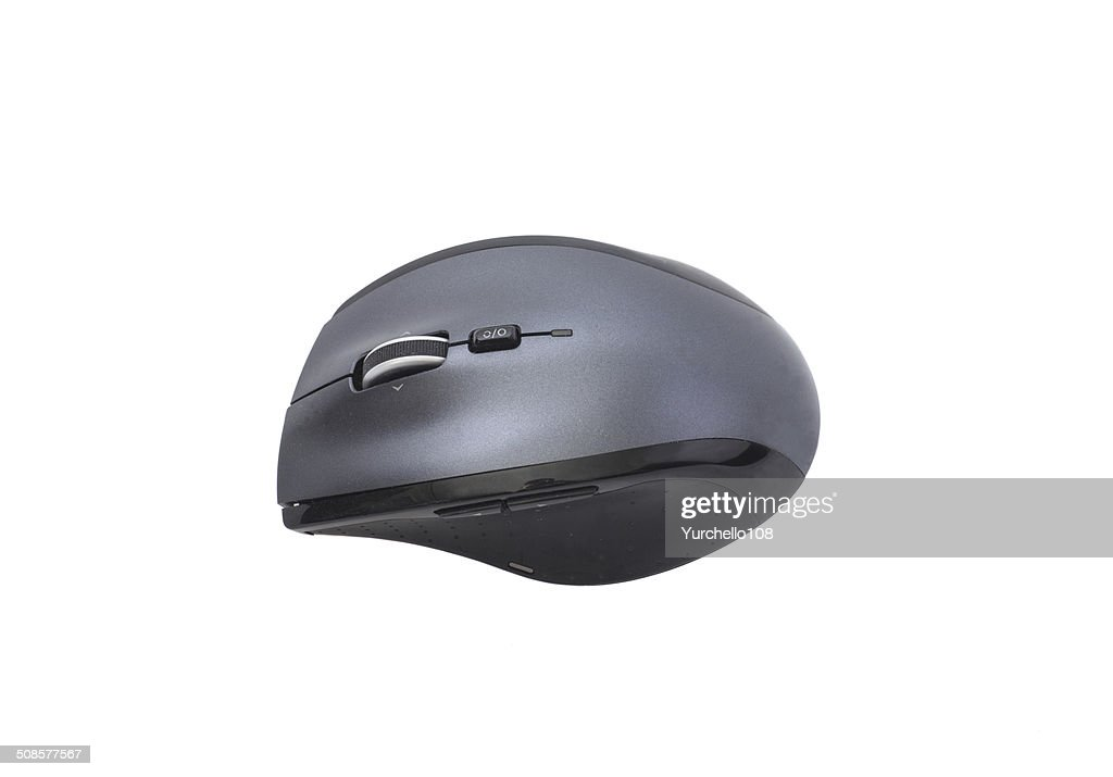 black wireless mouse : Stock Photo