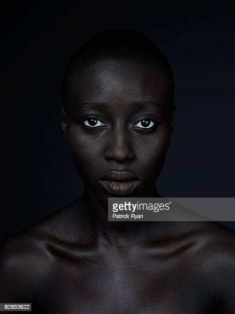 Black woman in studio