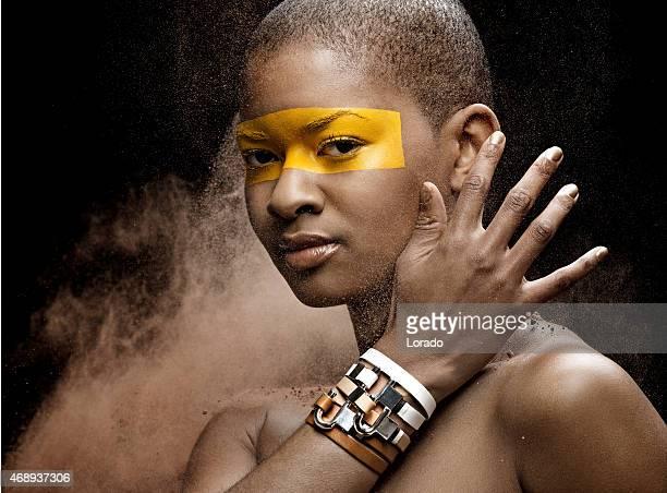 black woman wearing silver luxury jewellery