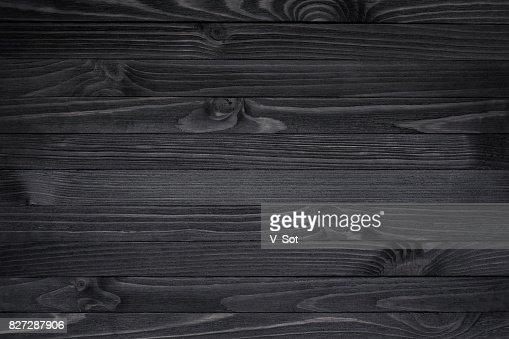 Black Wood Texture : Stock Photo