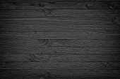 Old black wood. Blackboard. Dark background/ Grunge   gloomy wooden texture