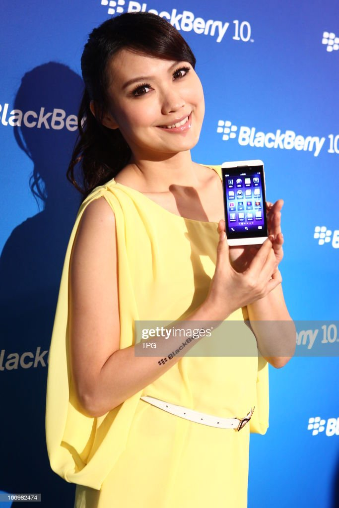 BlackBerry Z10 launching activity on Monday April 15, 2013 in Taipei, Taiwan, China.