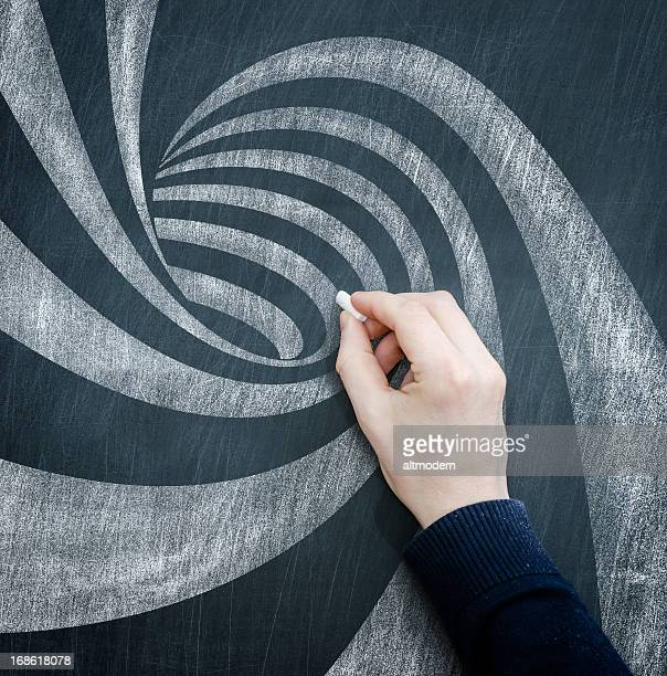 blackboard spiral