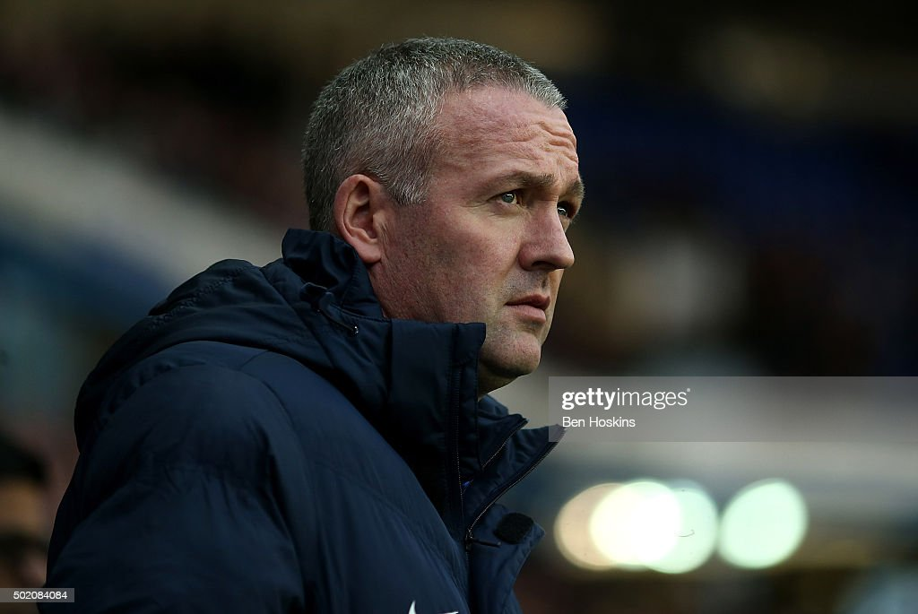 Blackburn manager <a gi-track='captionPersonalityLinkClicked' href=/galleries/search?phrase=Paul+Lambert+-+Soccer+Manager&family=editorial&specificpeople=8052775 ng-click='$event.stopPropagation()'>Paul Lambert</a> looks on ahead of the Sky Bet Championship match between Reading and Blackburn Rovers on December 20, 2015 in Reading, United Kingdom.