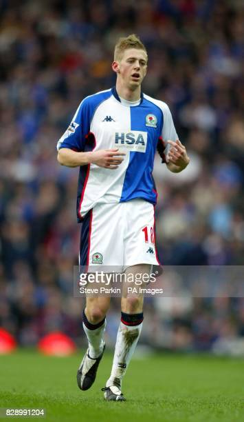 Blackburn player Jon Stead during the FA Premiership clash against Portsmouth at Ewood Park THIS PICTURE CAN ONLY BE USED WITHIN THE CONTEXT OF AN...