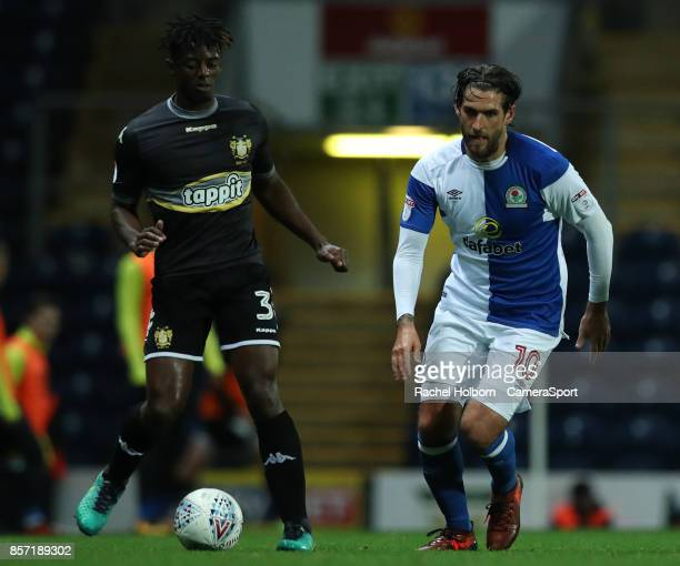 Blackburn Rovers' Danny Graham during the EFL Checkatrade Trophy Northern Section Group C game between Blackburn Rovers v Bury on October 3 2017 in...