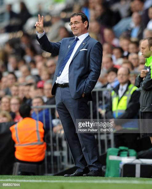 Blackburn Rovers manager Gary Bowyer issues instructions