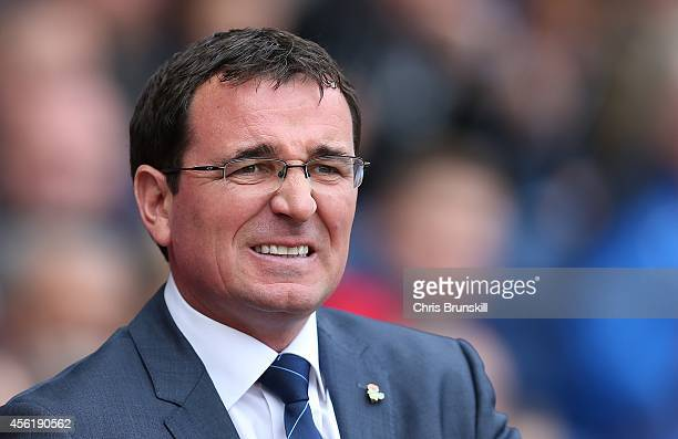 Blackburn Rovers manager Gary Bowyer looks on during the Sky Bet Championship match between Blackburn Rovers and Watford at Ewood Park on September...