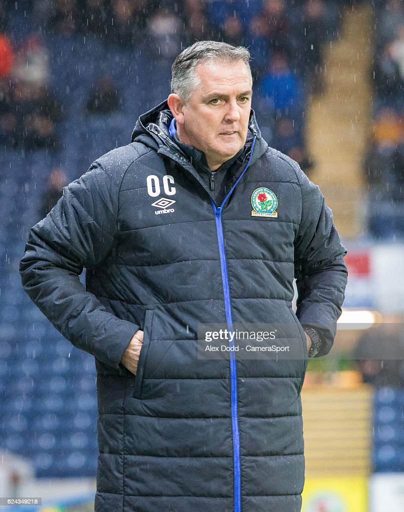 Blackburn Rovers manager Owen Coyle during the Sky Bet Championship match between Blackburn Rovers and Brentford at Ewood Park on November 19, 2016 in Blackburn, England.
