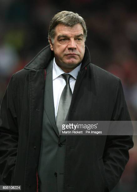 Blackburn Rovers manager Sam Allardyce after the Barclays Premier League match at Old Trafford Manchester
