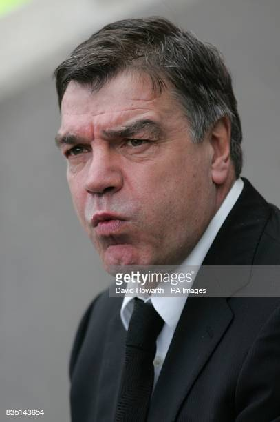 Blackburn Rovers' manager Sam Allardyce prior to kick off