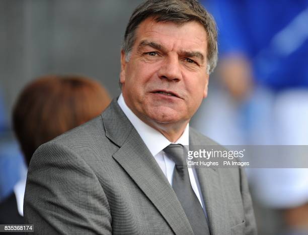 Blackburn Rovers manager Sam Allardyce prior to kick off