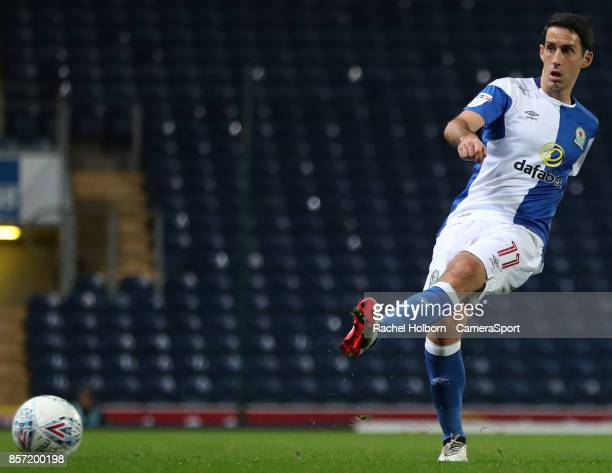 Blackburn Rovers' Peter Whittingham during the EFL Checkatrade Trophy Northern Section Group C game between Blackburn Rovers v Bury on October 3 2017...
