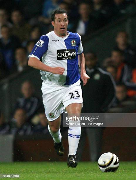 Blackburn Rovers' Robbie Fowler during the Carling Cup Third Round match at Ewood Park Blackburn