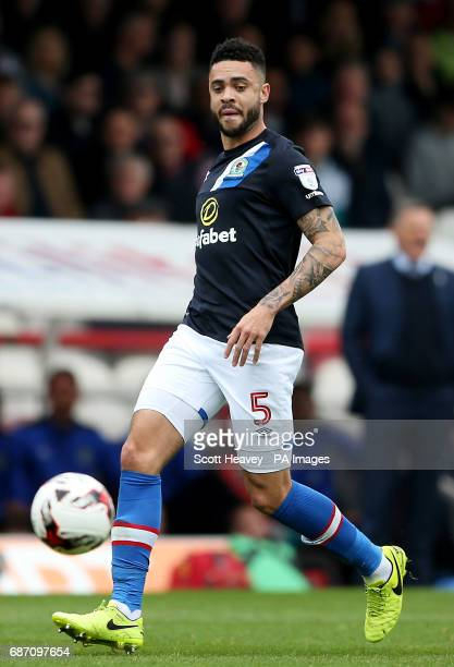 Blackburn's Derrick Williams during the Sky Bet Championship match at Griffin Park London
