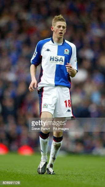 Blackburn's Jon Stead in action against Portsmouth during the FA Premier league match at Ewood Park Blackburn THIS PICTURE CAN ONLY BE USED WITHIN...