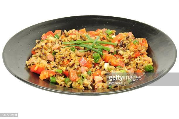 Black-Eyed Bean et Riz en salade