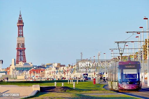 Blackpool city, Lancashire, England