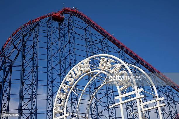 Blackpool Pleasure Beach rollercoaster