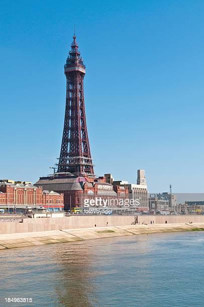 Blackpool Tower seaside summer resort UK