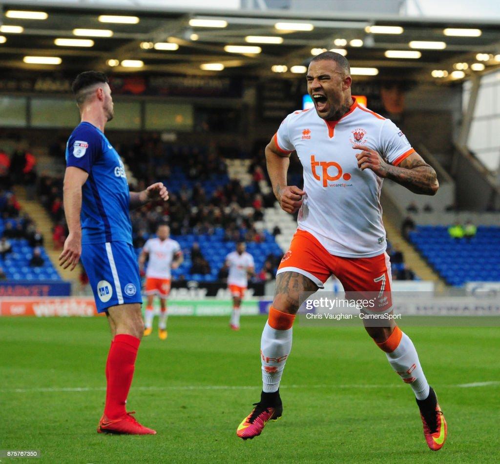 Peterborough United v Blackpool - Sky Bet League One
