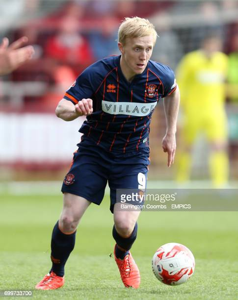 Blackpool's Mark Cullen