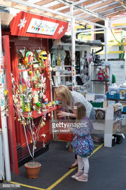 Blackrock Market on 08th April 2017 in County Dublin Republic of Ireland A longrunning market with over 30 eclectic stalls selling goods such as art...