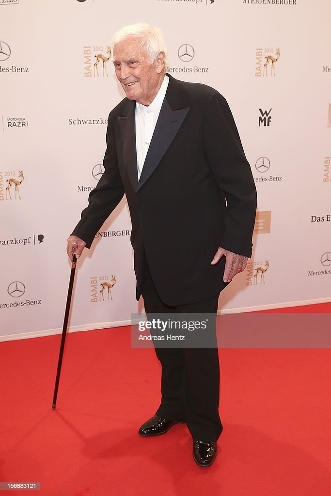 Blacky Fuchsberger attends 'BAMBI Awards 2012' at the Stadthalle Duesseldorf on November 22, 2012 in Duesseldorf, Germany.
