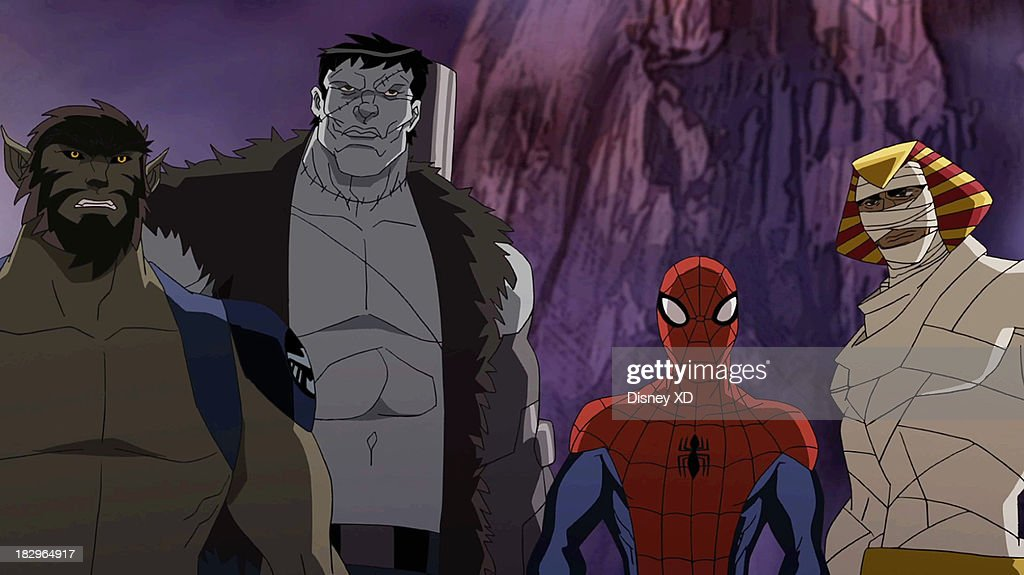 S ULTIMATE SPIDER-MAN - 'Blade and The Howling Commandos' - Its Halloween for Marvels Ultimate Spider-Man, but theres no time for Spider-Man and his friends to trick-or-treat when they find themselves attacked by evil vampires led by Dracula himself. Spidey's only hope of stopping a world takeover is to team up with Nick Furys secret team of super-powered monsters, The Howling Commandos. Led by Jack Russell, aka Werewolf by Night, The Howling Commandos include vampire hunter Blade, The Living Mummy, Frankensteins Monster and Man-Thing. 'Marvel's Ultimate Spider-Man' makes its Disney Channel debut in a special one-hour Halloween episodeSATURDAY, OCTOBER 5 (9:00 p.m., ET/PT). An encore presentation will air SUNDAY, OCTOBER 13 (11:00 a.m., ET/PT) on the Marvel Universe block on Disney XD. JACK RUSSELL, FRANKENSTEIN